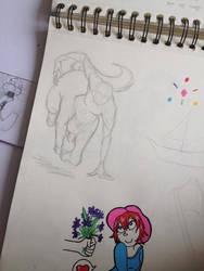 WIP centaur by Paprika-B