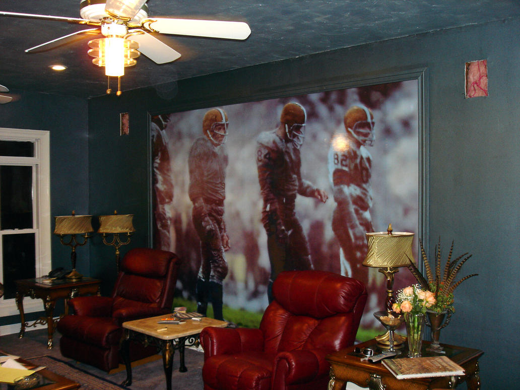 Football Wall Mural by Quazzie on DeviantArt