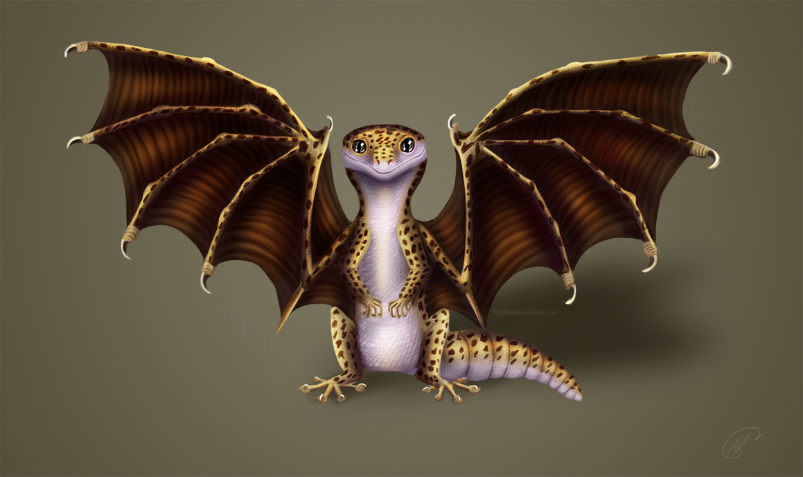 Mythical Reptile With A Lethal Gaze In  Letters