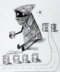 [Inktober] The Mayor of Can Town