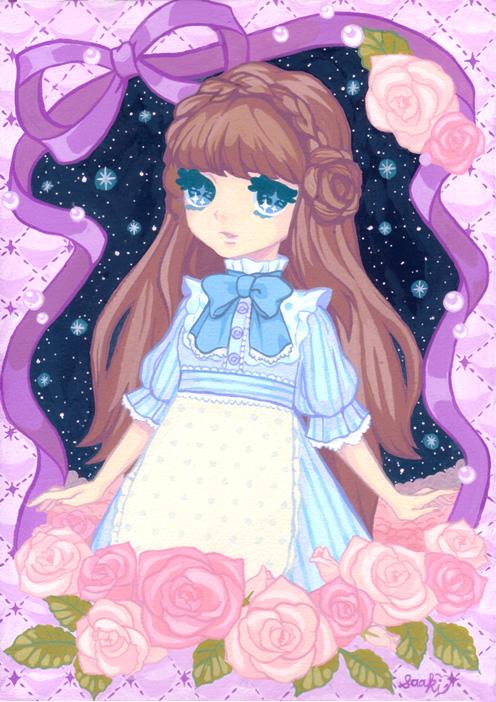 dreamy rose by saaki-pyrop