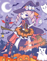 Magical Halloween by saaki-pyrop