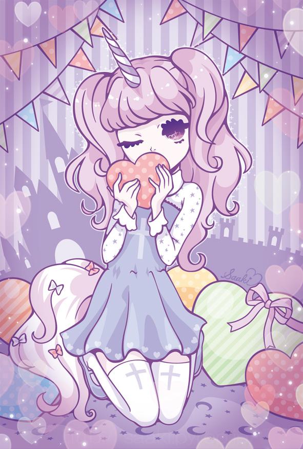 Cute Kawaii Anime Unicorn Girl Anime Wallpapers