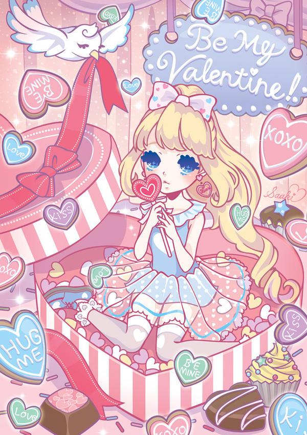 Be My Valentine by saaki-pyrop