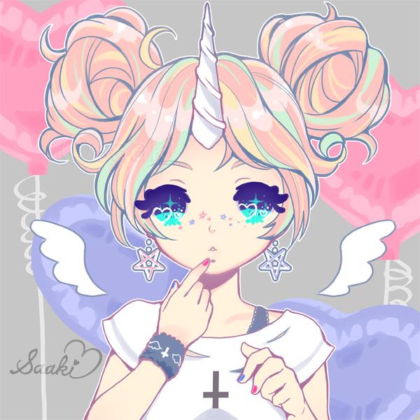 Gambar Anime Unicorn | Kumpulan Gambar Bagus