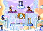Sonic vs Goku vs Mario vs Naruto