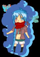 chibi!Yumi by hyoreki