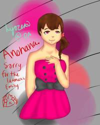 Anohana. by hyoreki