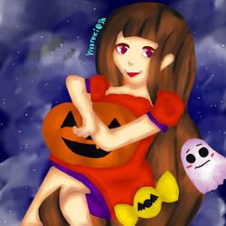 Halloween pls by hyoreki