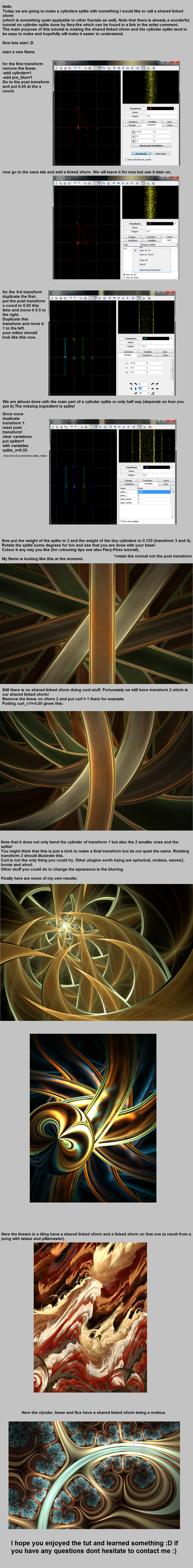Linked Xform Tutorial by piethein21