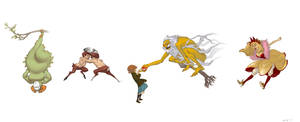 Wonderland:Character Redesign1 by Jandruff