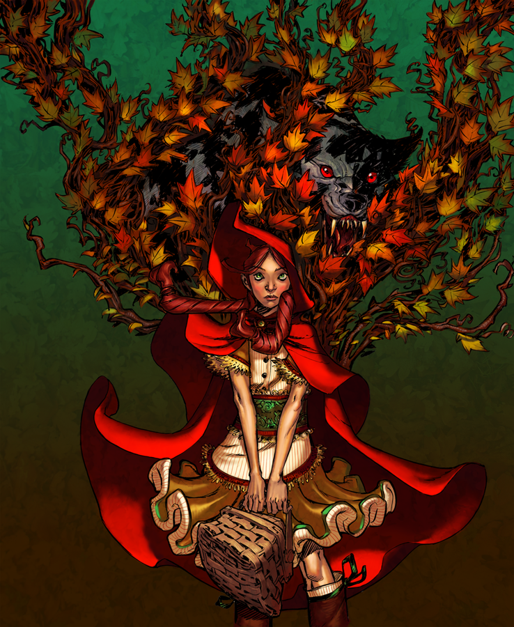 Canete's Red Riding Hood by Jandruff