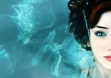 Susan Coffey On Swimming Pool by jntesteves