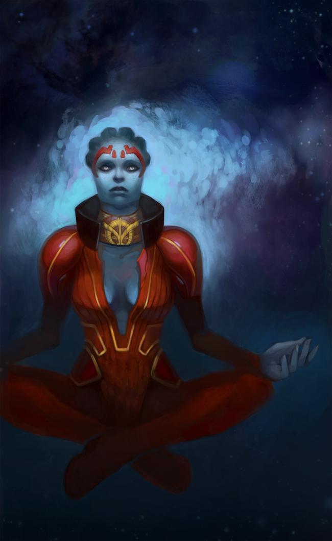 Mass Effect 2 - Samara by marrten