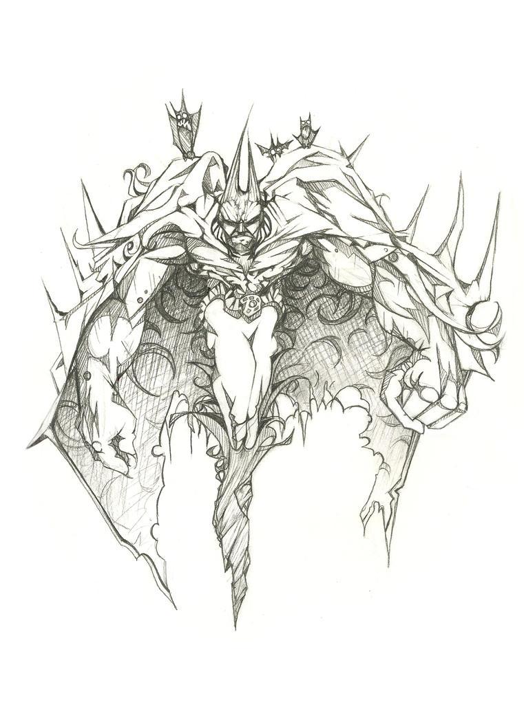 Batman sketch by JamesBousema on DeviantArt