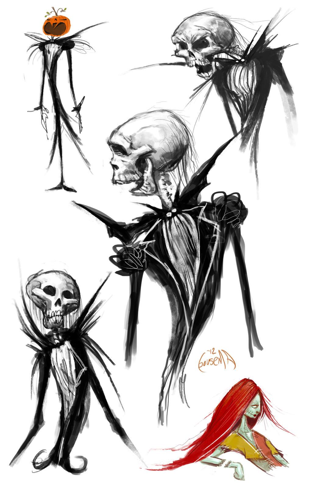 NIghtmare sketches by JamesBousema on DeviantArt