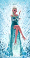 Elsa the Snow Queen by JamesBousema