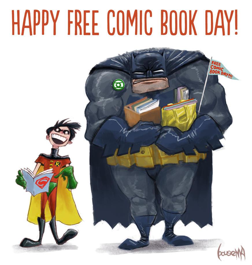 Free Comic Book Day Parramatta: Free Comic Book Day By JamesBousema On DeviantArt