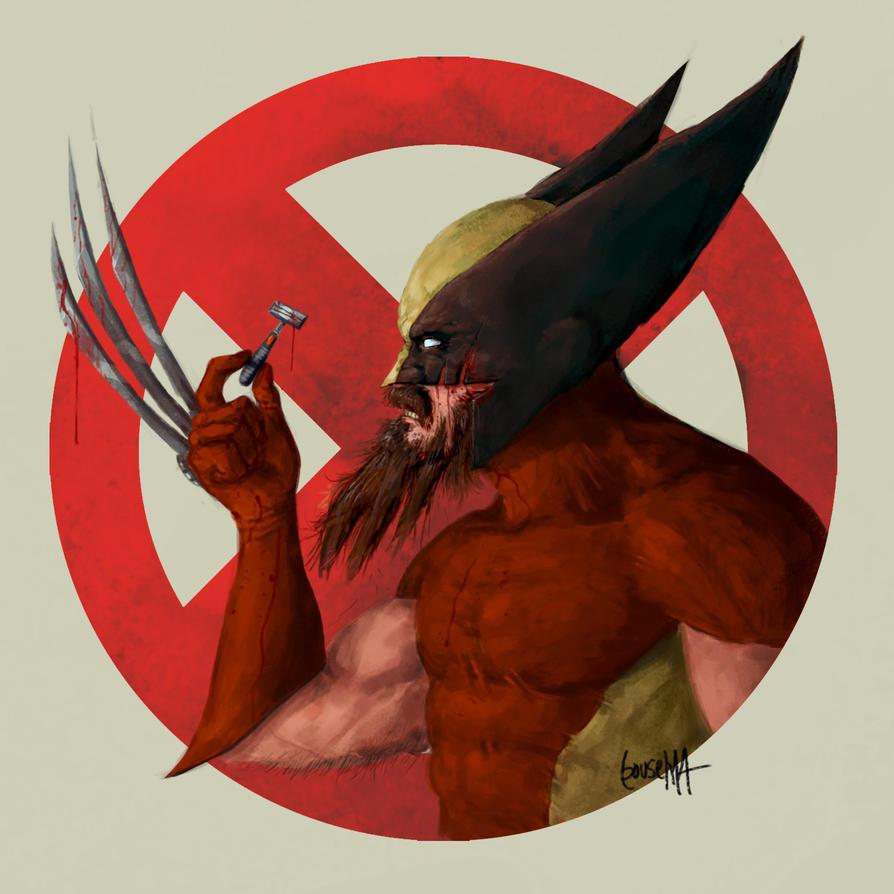 Super Movember: Wolverine by JamesBousema