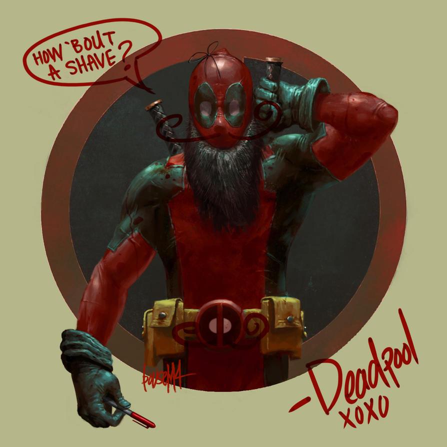 Super Movember: Deadpool by JamesBousema