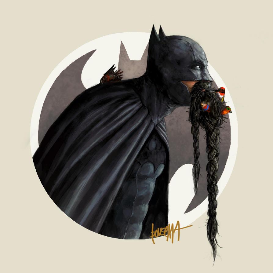 Super Movember: Batman by JamesBousema