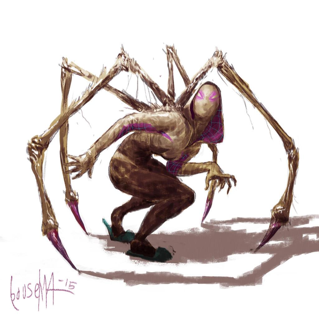 Spider-Gwen by JamesBousema on DeviantArt