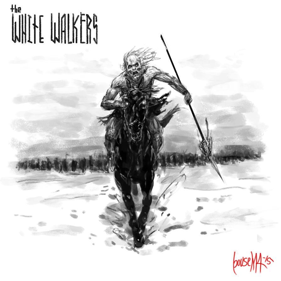 White Walkers by JamesBousema