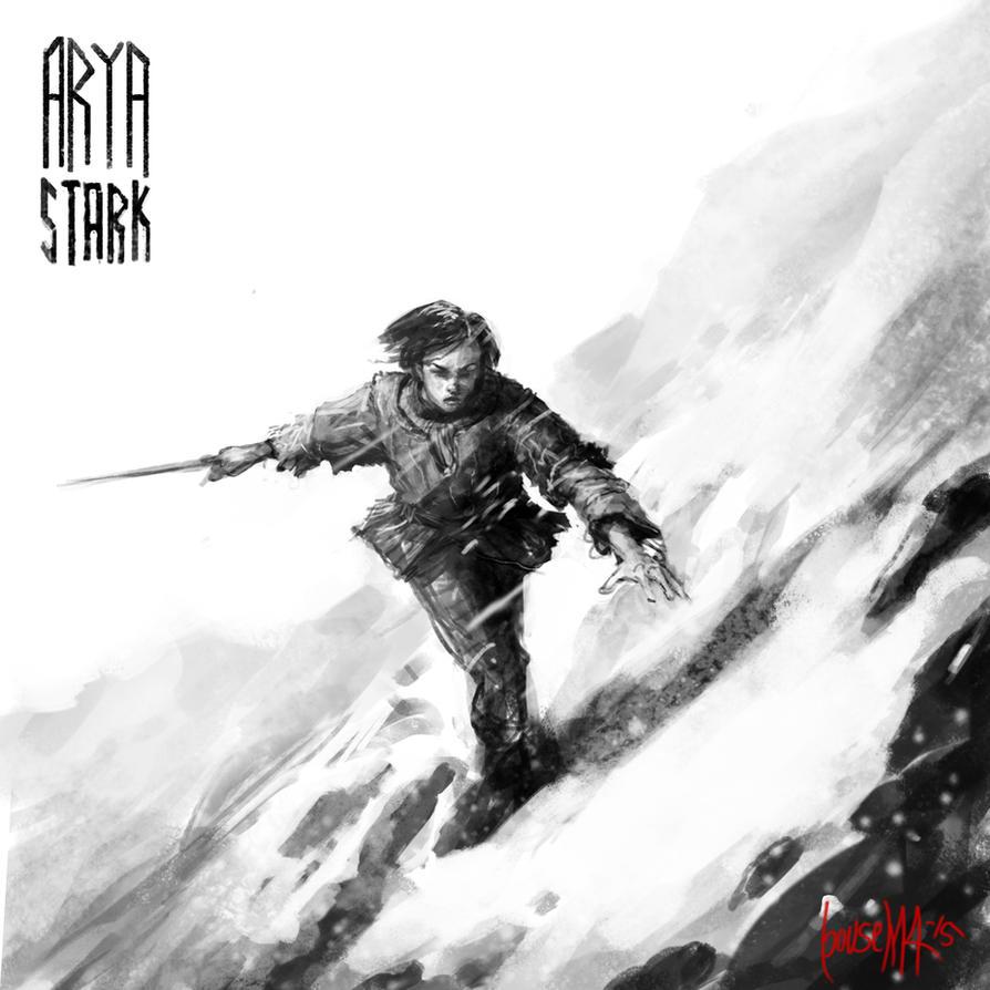 Arya Stark by JamesBousema