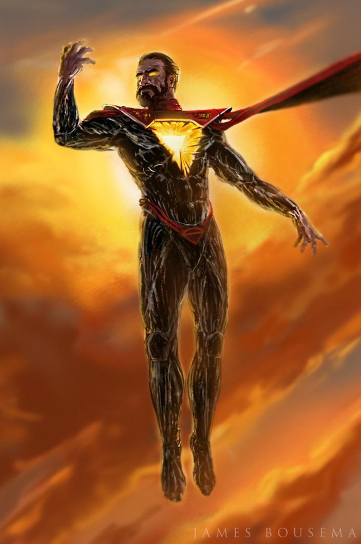 Superman re-design by JamesBousema