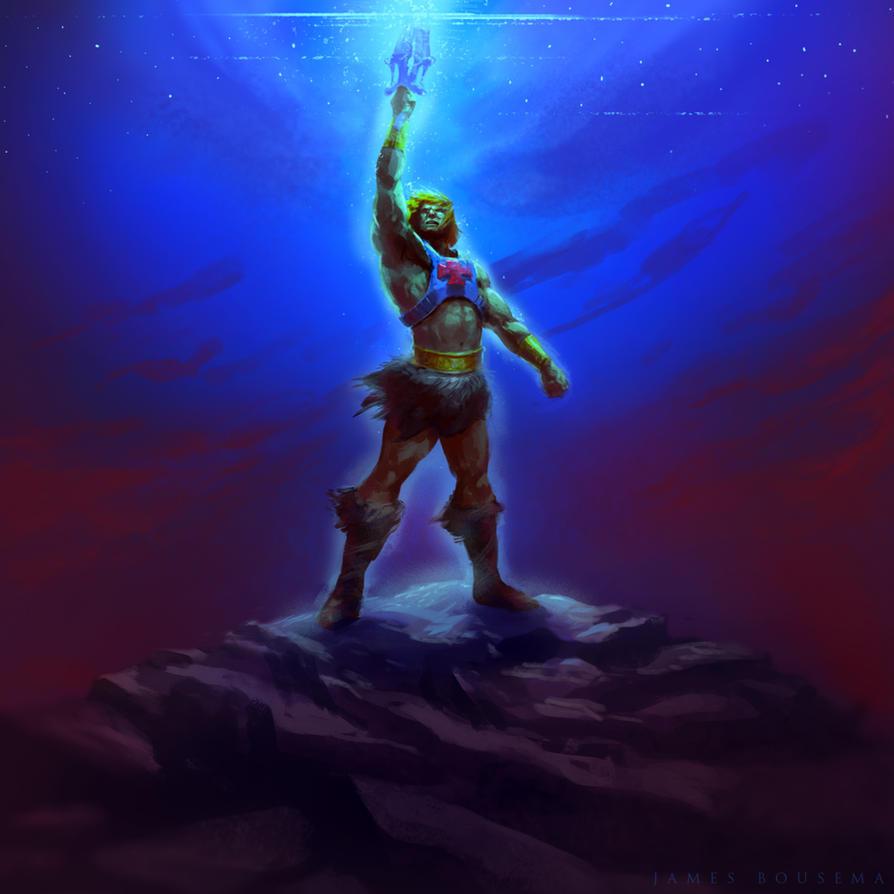 He-Man by JamesBousema