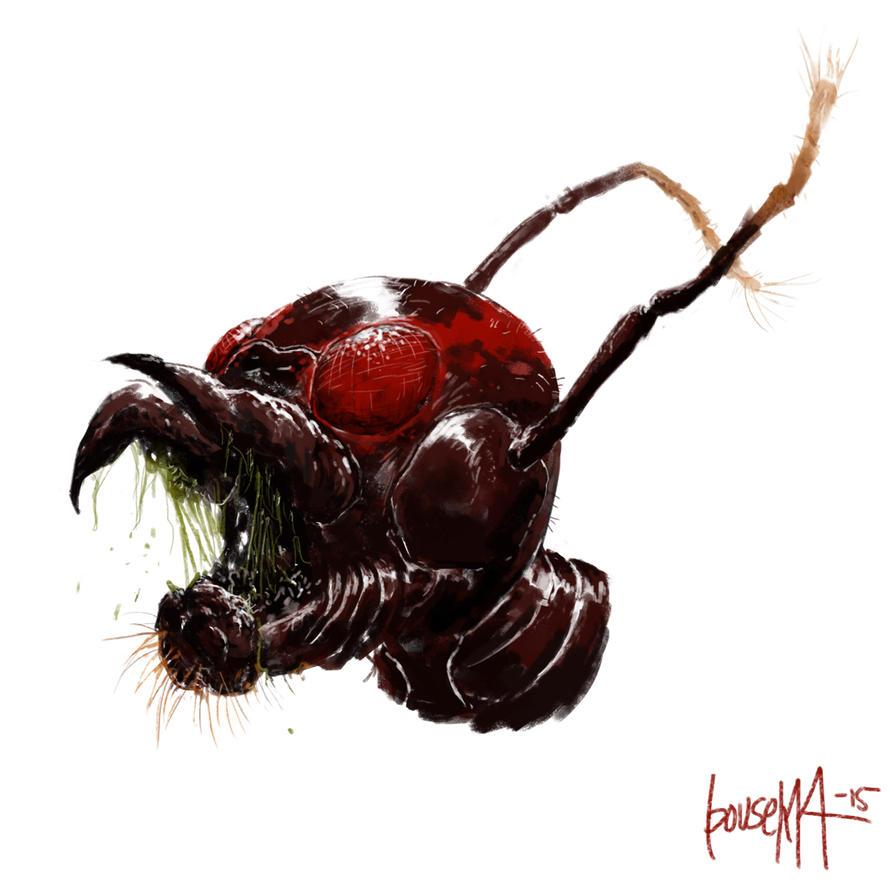 Man-Ant by JamesBousema