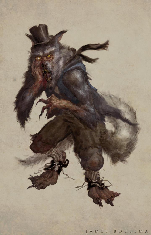 Wolfie by JamesBousema