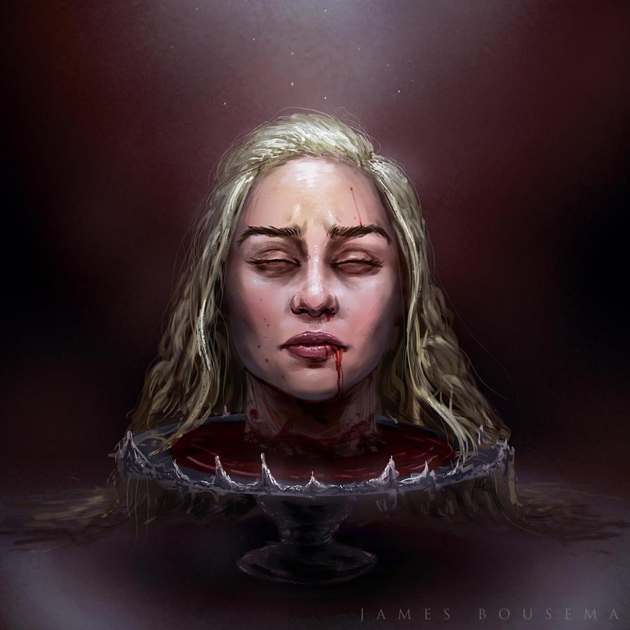 Daenerys Targaryen by JamesBousema