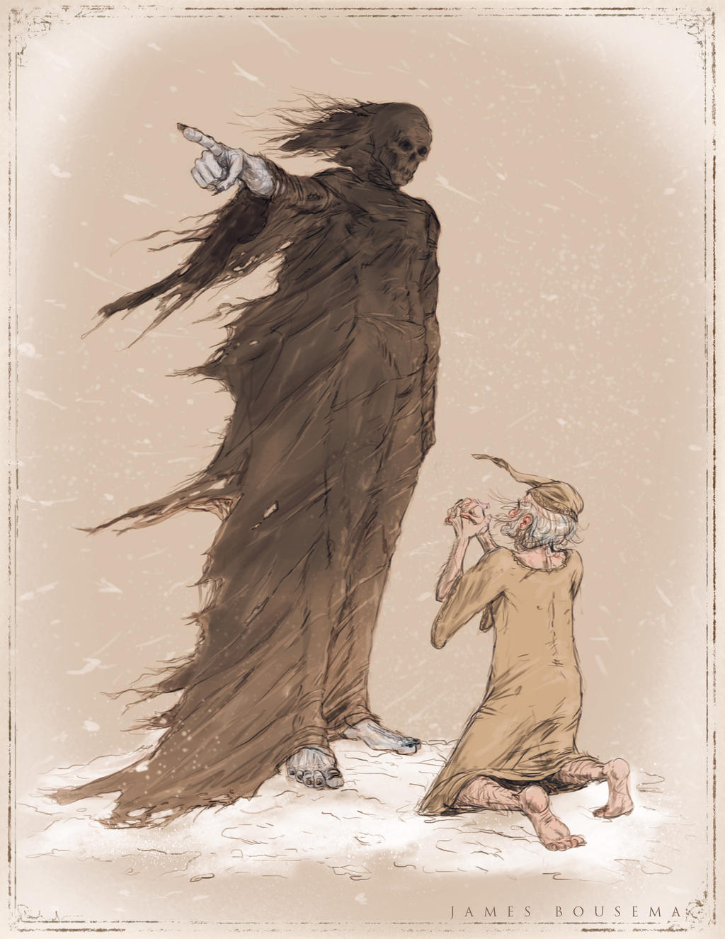 ghost of christmas yet to come essay Essay on scrooge's transformation in dickens' a christmas carol essay on scrooge's transformation in dickens' a christmas and ghost of christmas yet to come.