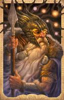 Odin: The Allfather by JamesBousema