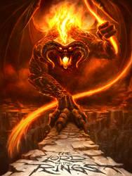 The Balrog of Morgoth