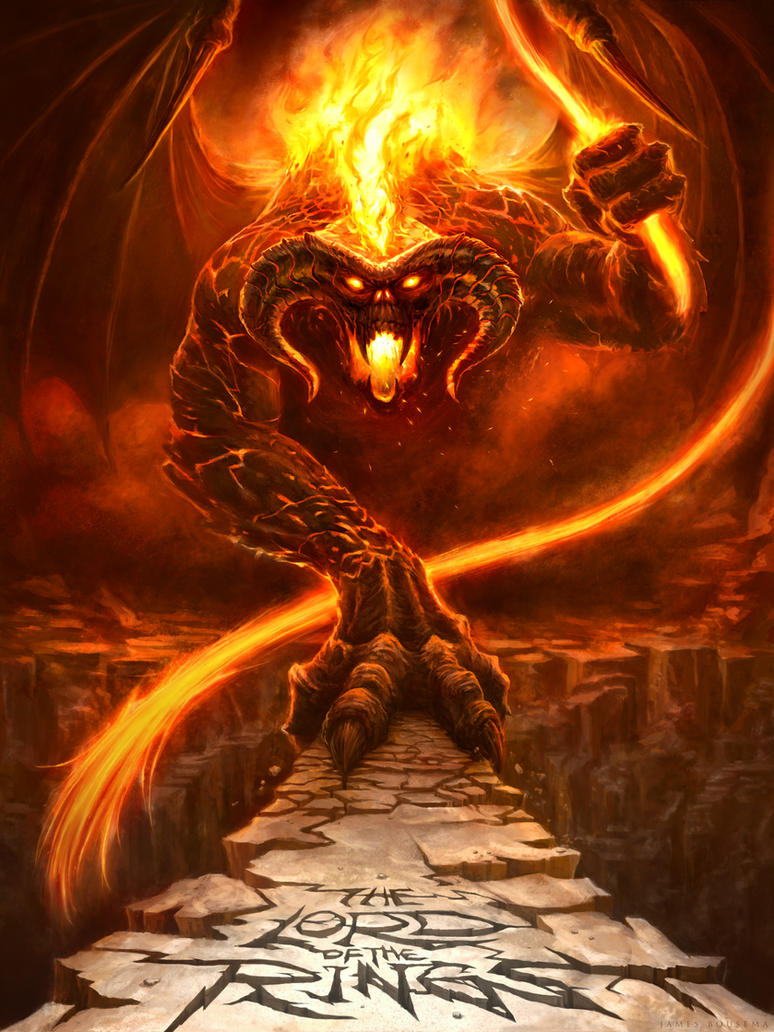 The Balrog of Morgoth by JamesBousema