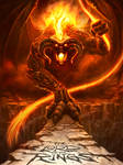 The Balrog of Morgoth by JamesBousema