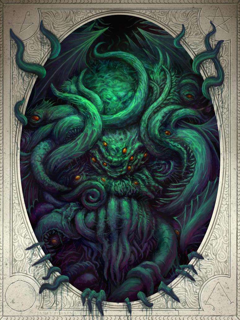 Cthulhu Awakens by JamesBousema