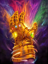 Infinity Gauntlet by JamesBousema