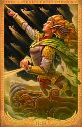 FREYJA: Vanir Goddess by JamesBousema