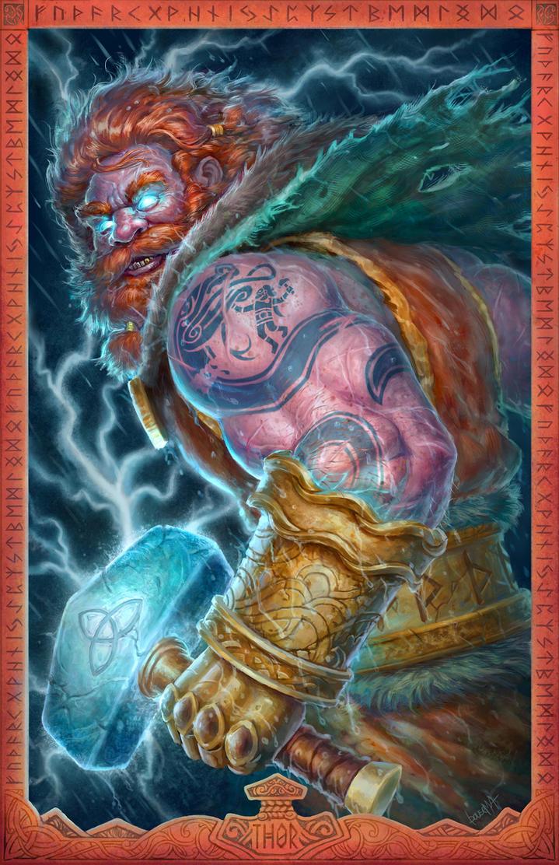 THOR: God of Thunder by JamesBousema