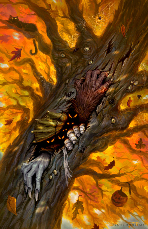 The Hallowed Tree by JamesBousema