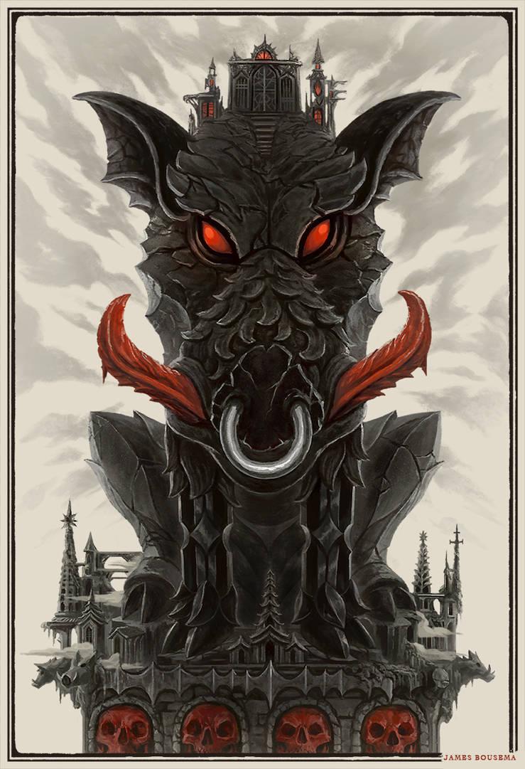 Goregoyle: The Boar by JamesBousema