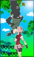 SakuShika spider-kiss