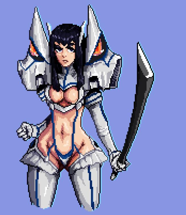 Satsuki Pixel Art by Matryoshkat