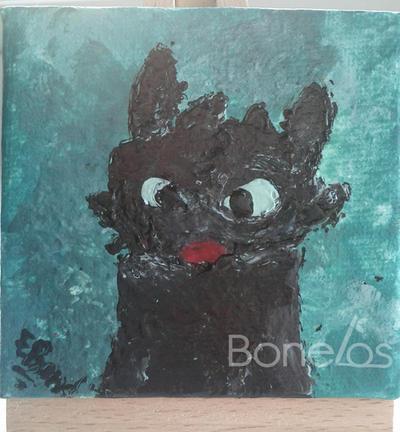 Toothless (nail varnish) by Bonelos