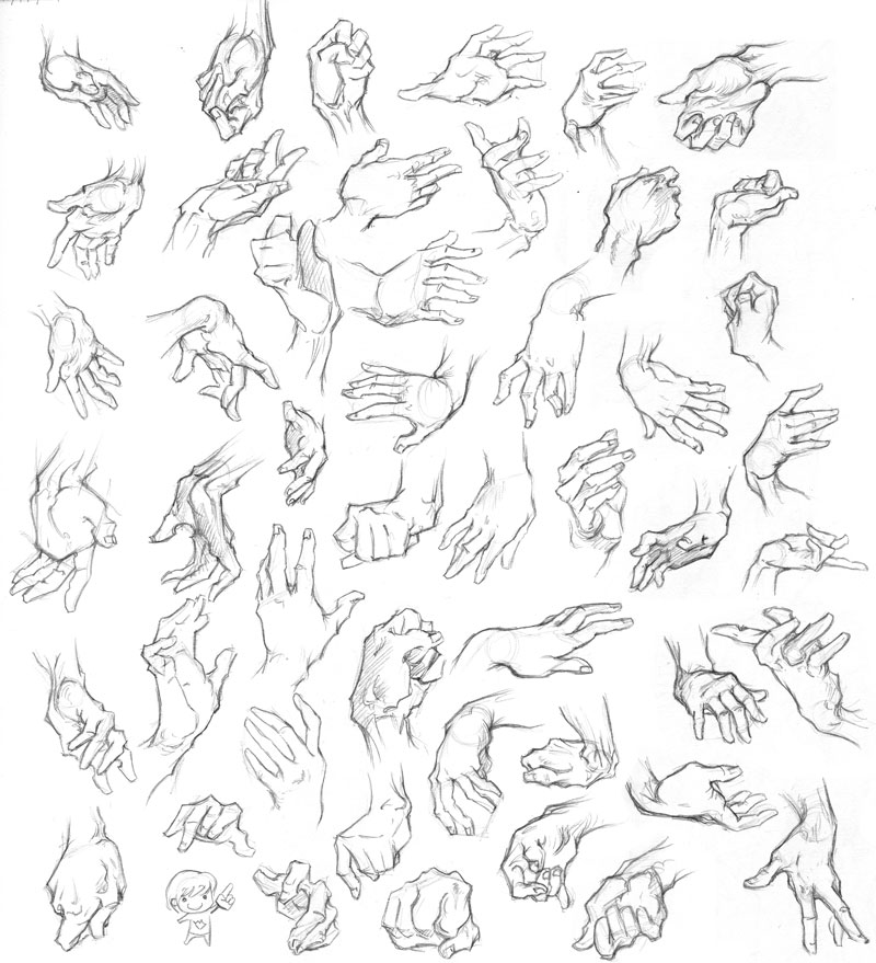 The gallery for --> Left Hand Drawing Reference