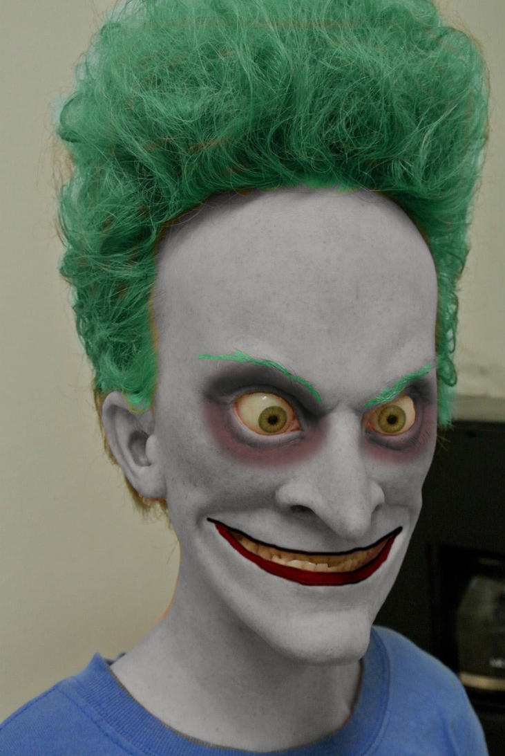 Beavis / Joker by Rangerlou