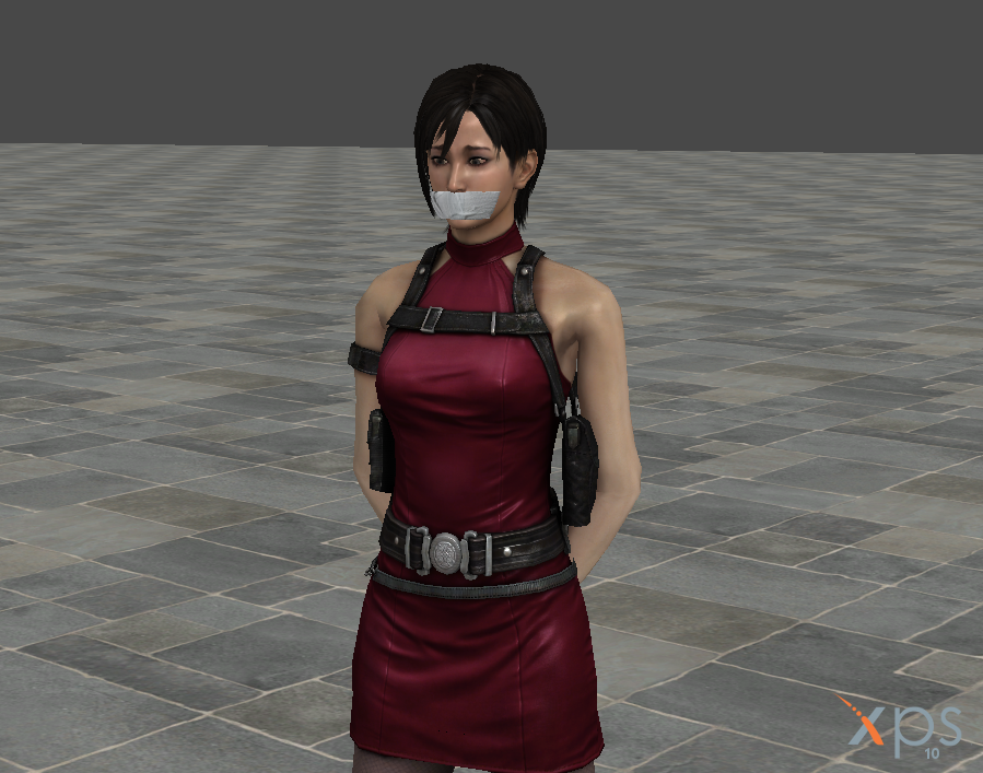 Ada Wong: Bondage in a Forest by ImpulseDXE on DeviantArt